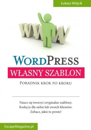 Okładka książki Własny szablon WordPress