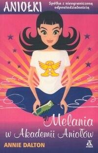 Okładka książki Melania w Akademii Aniołów