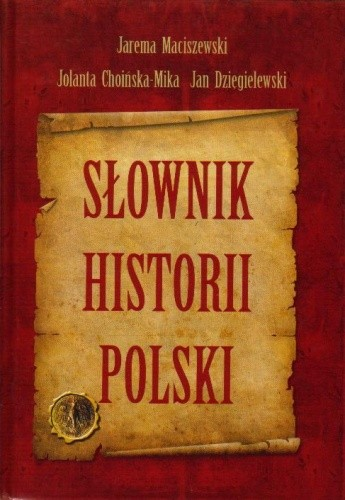 Okładka książki Słownik historii Polski