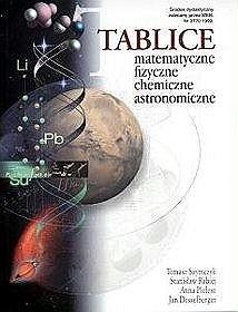 Okładka książki Tablice matematyczne, fizyczne, chemiczne, astronomiczne