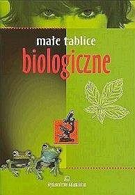 Okładka książki Małe tablice biologiczne