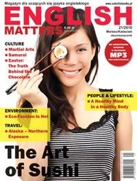 Okładka książki English Matters, 21/2010 (marzec/kwiecień)