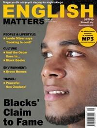 Okładka książki English Matters, 20/2010 (styczeń/luty)