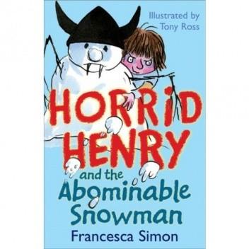 Okładka książki Horrid Henry and the Abominable Snowman