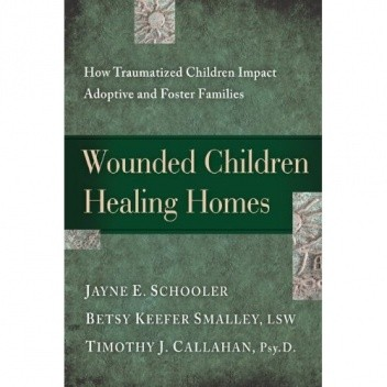 Okładka książki Wounded Children, Healing Homes: How Traumatized Children Impact Adoptive and Foster Families