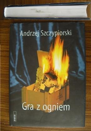 Okładka książki Gra z ogniem