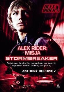 Okładka książki Misja Stormbreaker