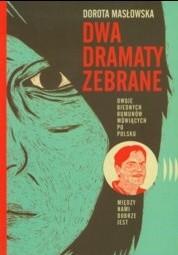 Okładka książki Dwa dramaty zebrane
