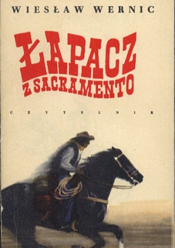 Okładka książki Łapacz z Sacramento