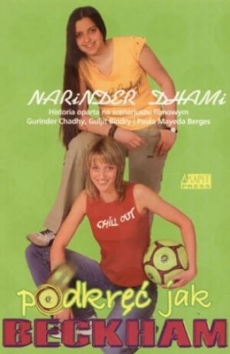 Okładka książki Podkręć jak Beckham