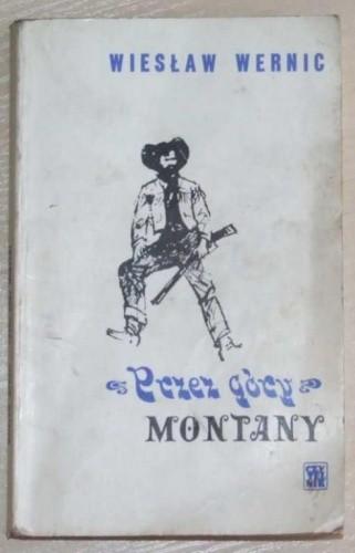 Okładka książki Przez góry Montany