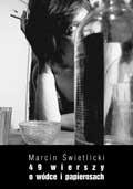Okładka książki 49 wierszy o wódce i papierosach