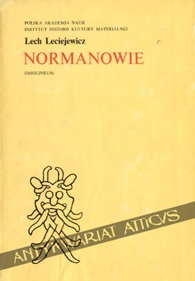 Okładka książki Normanowie