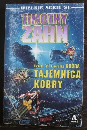 Okładka książki Tajemnica Kobry