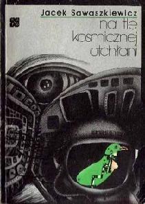 Okładka książki Na tle kosmicznej otchłani