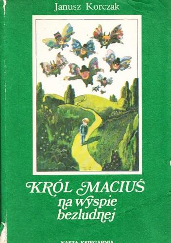 Okładka książki Król Maciuś na wyspie bezludnej