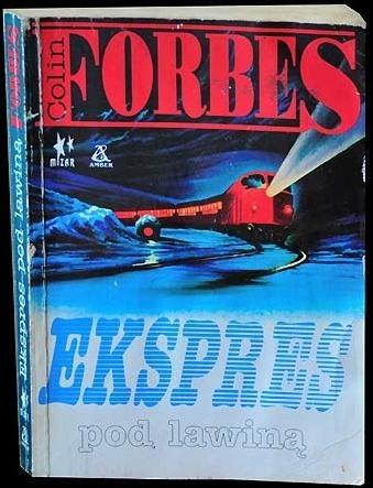 Okładka książki Ekspres pod lawiną