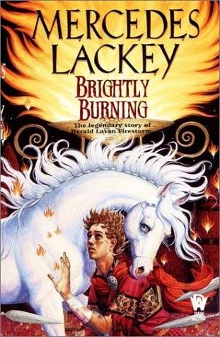 Okładka książki Brightly Burning