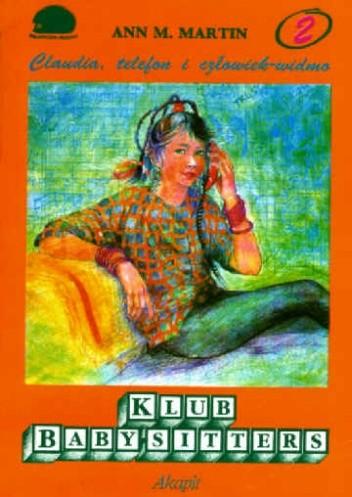 Okładka książki Claudia, telefon i człowiek-widmo