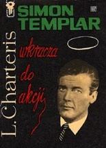 Okładka książki Simon Templar wkracza do akcji