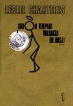 Okładka książki Simon Templar wkracza do akcji 1: Hrabina filantropka; Ryzykowna gra; Utalentowany mąż