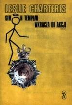 Okładka książki Simon Templar wkracza do akcji 3: Fundacja Simona Templara