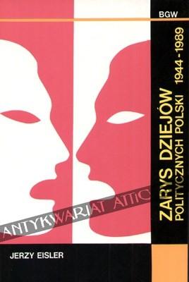 Okładka książki Zarys dziejów politycznych Polski 1944-1989