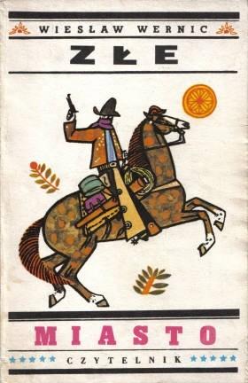 Okładka książki Złe miasto