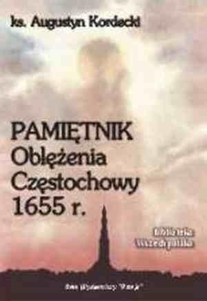 Okładka książki Pamiętnik oblężenia Częstochowy 1655 r.