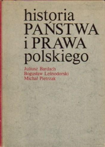 Okładka książki Historia państwa i prawa polskiego