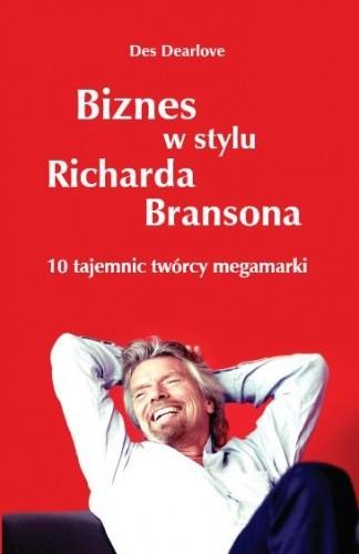 Okładka książki Biznes w stylu Richarda Bransona