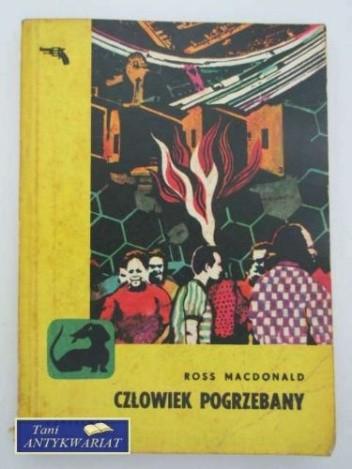 Okładka książki Człowiek pogrzebany
