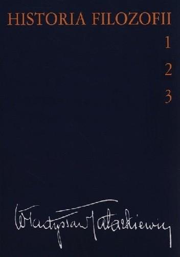 Okładka książki Historia filozofii tom 1