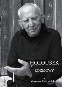Okładka książki Holoubek - rozmowy