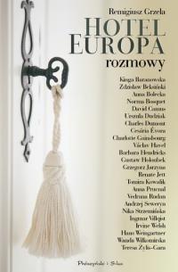 Okładka książki Hotel Europa. Rozmowy