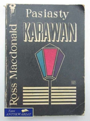 Okładka książki Pasiasty karawan