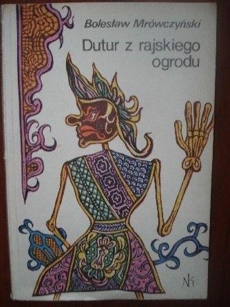 Okładka książki Dutur z rajskiego ogrodu
