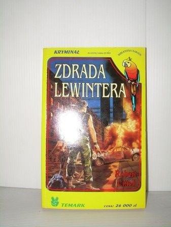 Okładka książki Zdrada Lewintera