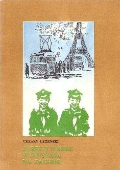 Okładka książki Jarek i Marek wyruszają na zachód