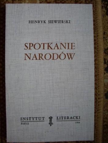 Okładka książki Spotkanie narodów