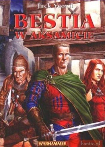 Okładka książki Bestia w aksamicie