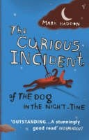 Okładka książki The Curious Incident of the Dog in the Night-time