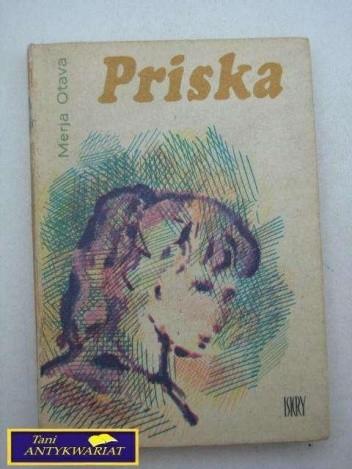 Okładka książki Priska