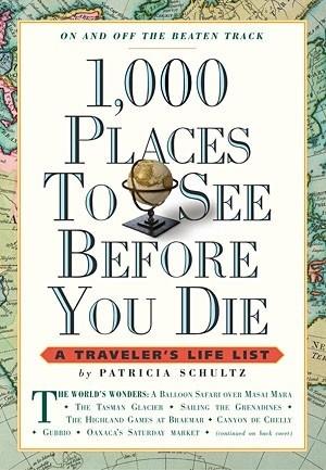 Okładka książki 1,000 Places to See Before You Die