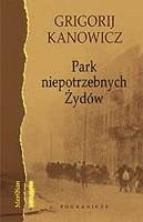 Okładka książki Park niepotrzebnych Żydów