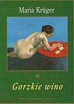 Okładka książki Gorzkie wino