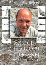 Okładka książki Szkice z filozofii potocznej z rysunkami Janusza Kapusty