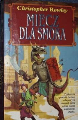 Okładka książki Miecz dla smoka