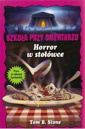 Okładka książki Horror w stołówce