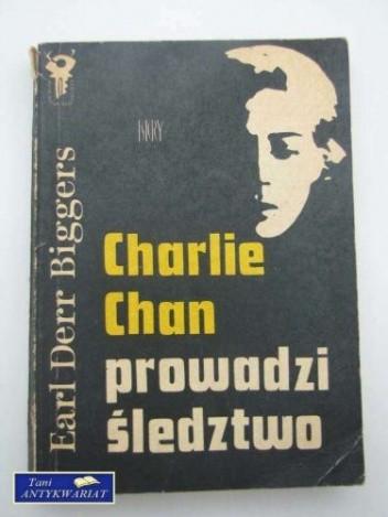 Okładka książki Charlie Chan prowadzi śledztwo